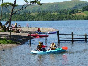Ullswter Lake access